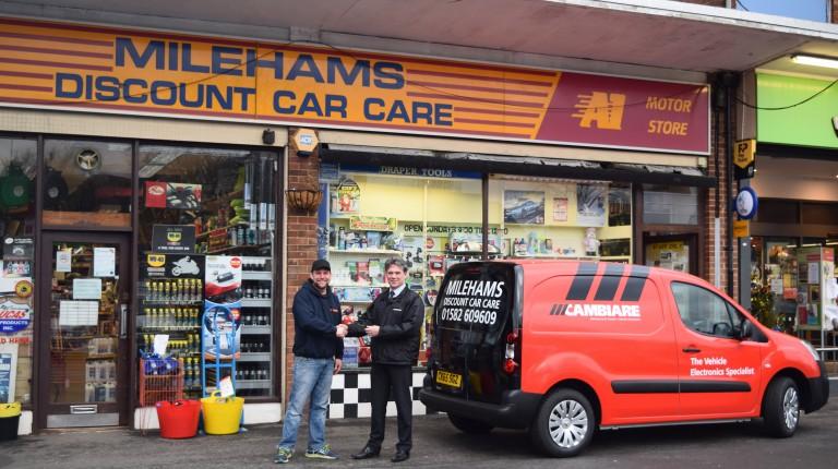 Cambiare Van Winner Milehams A1 Group